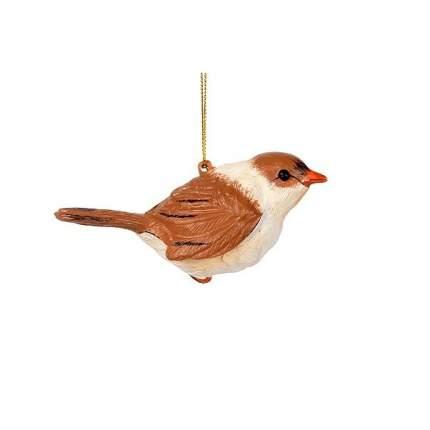 Елочная игрушка Billiet Птичка 867058 5 см 1 шт.