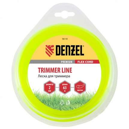 Леска для триммера DENZEL Flex cord 96118