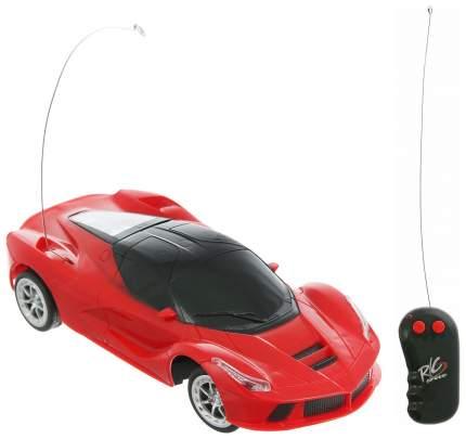 Машинка р/у 2CH, световые эффекты, цвет красный 28х12х11,5 см