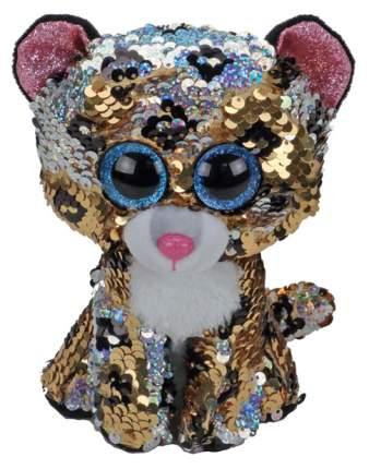 Мягкая игрушка животное TY Леопард с пайетками 36345