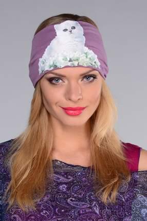 Повязка женская Lak Miss CHEL 8122 фиолетовая 56-58