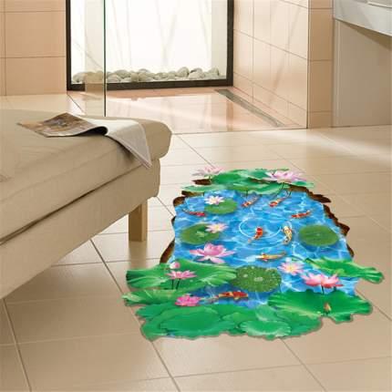 Наклейки на стену Водный мир Лотосы 60х90 см Animal World