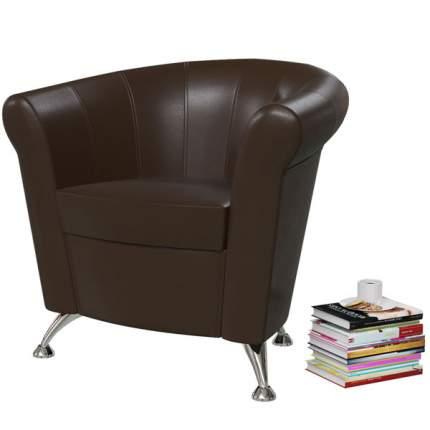 Банкетка 6-5116 Лагуна, тёмно-коричневый, 78х63х79 см