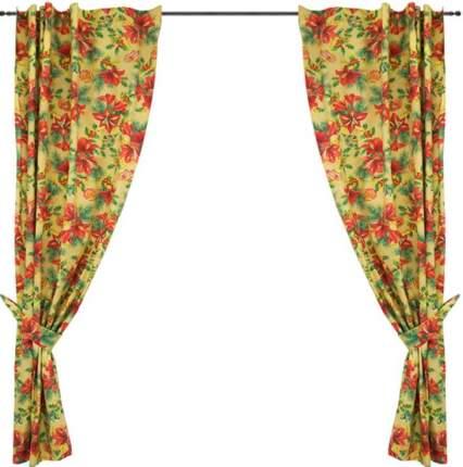 Классические шторы Трехгорная мануфактура Amarillis Цвет: Желтый