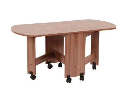 Журнальный столик Mebelson MBS_CZ-006_4 28,2/73,7/119,2х60,2х55,1 см, ясень шимо тёмный