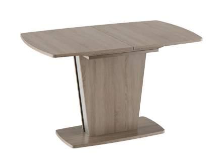 Обеденный стол ТриЯ Ливерпуль Стол обеденный Дуб Сонома трюфель / Металлик, Средний