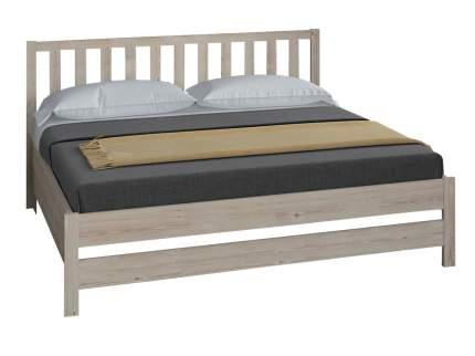 Двуспальная кровать Боровичи Массив Натуральный, 1400 Х 2000 мм