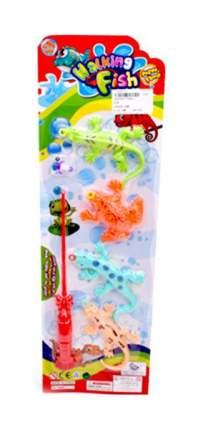 Рыбалка с 4 фигурками и удочкой Наша игрушка