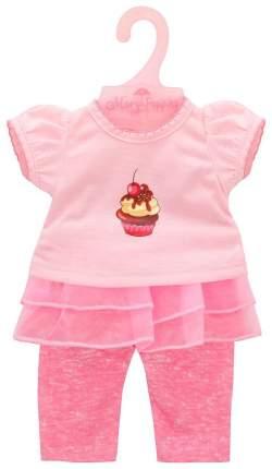 "Одежда для кукол 38-43см Футболка и штанишки ""Карамель"""
