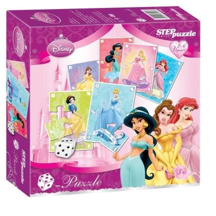 Настольная игра Step Puzzle Принцессы. Кубик