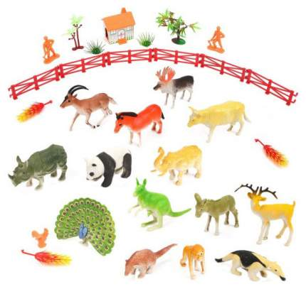 Набор животных, 18 фигурок, арт. 0588-67