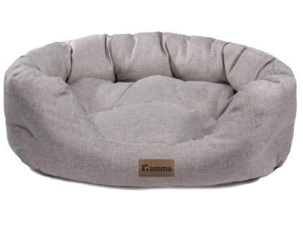 Лежак для животных Gamma Кижи Гранд, овальная, 60x47x21 см
