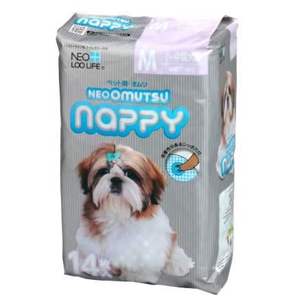 Подгузники для домашних животных NEO LOO LIFE Neoomutsu, размер М (5-8 кг), 14 штук