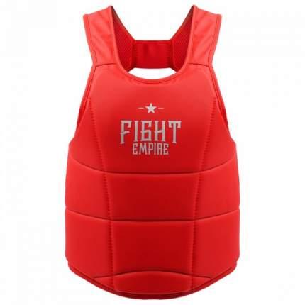 Жилет защитный FIGHT EMPIRE, размер M, цвет красный FIGHT EMPIRE
