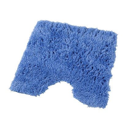 Коврик 4,5см 55х55 Микрофибра, цв.синий