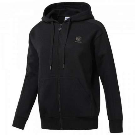 Женская толстовка Reebok Fleece Zip-Up CD8216 черный XS