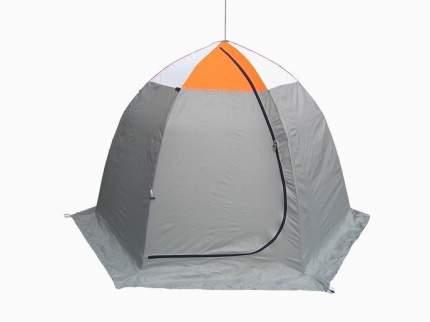 Палатка рыбака Митек Омуль 3 (оранжевый/беж/хаки)