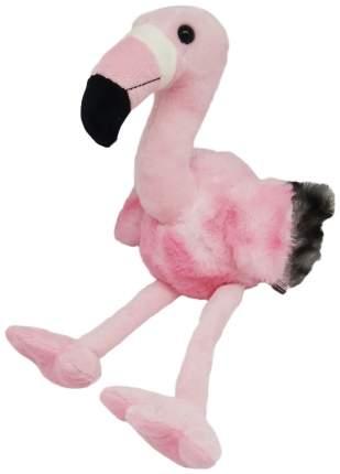 Мягкая игрушка АБВГДейка Фламинго розовый, 33 см