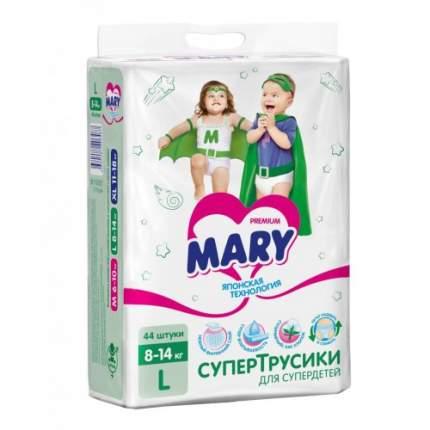 Трусики-подгузники Mary L 8-14 кг 44 шт