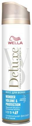 Лак для волос Wella Deluxe Wonder Volume & Protection 250 мл