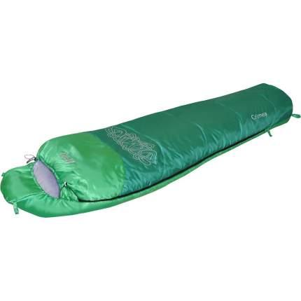 Спальный мешок Nova Tour Крым V2 зеленый, левый