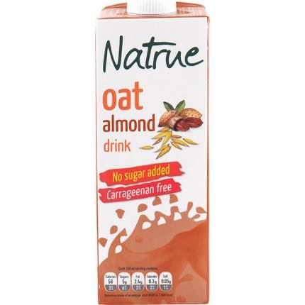 Напиток Natrue овсяно-миндальный без сахара 1 л
