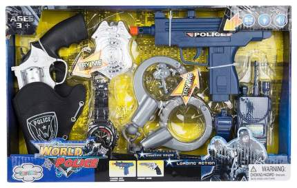 Игруша набор игровой Полиция, (на бат)