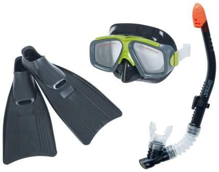 Набор для плавания Intex Серфингист маска, трубка, ласты, от 8 лет, 55959