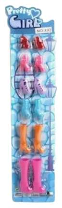 Набор обуви для куклы 6 пар 200239124 Наша Игрушка
