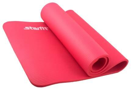Коврик для йоги Starfit FM-301 NBR красный 12 мм