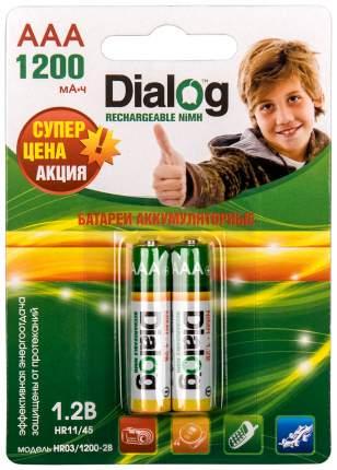 Аккумулятор Dialog HR03/1200-2B