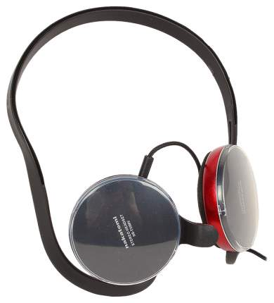 Гарнитура для компьютера nakatomi HS-T35MV Red/Black