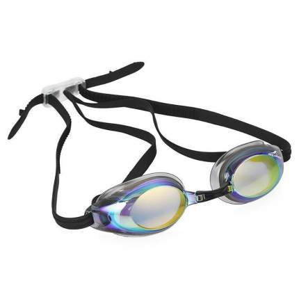 Очки для плавания Fashy Aquafeel Glide Mirror 4118 черные/золотистые (33)