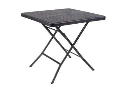 Стол складной GoGarden SPLIT, садовый,78x78x74 см, пластик/сталь