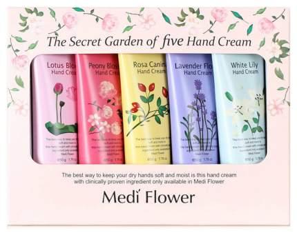 Подарочные наборы Medi Flower The Secret Garden Of Five Hand Cream Set