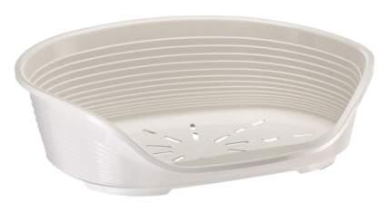 Лежак для животных Ferplast SIESTA DELUXE 6, пластиковый, белый, 70,5х52х23,5 см