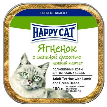 Консервы для кошек Happy Cat, ягненок, 100г