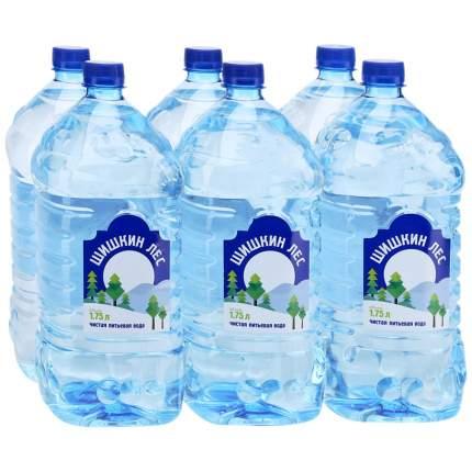 Вода Шишкин лес негазированная 1.75 л 6 штук в упаковке