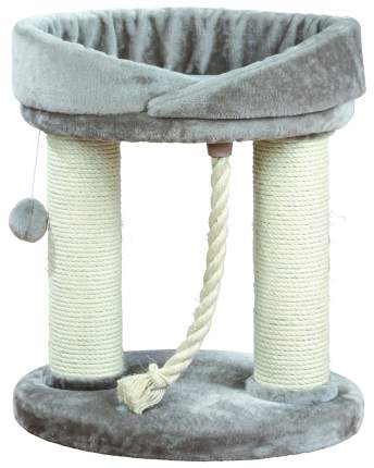 Комплекс для кошек TRIXIE, серый, 2 уровня