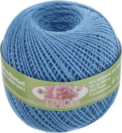 """Нитки для вязания """"Пион"""" (70%хлопок+30%вискоза) 6х50гр/200м цв,1603"""