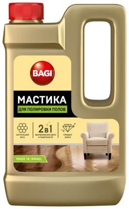 Мастика для полировки полов 2в1 Bagi выравнивание цвета и поверхности 500 мл