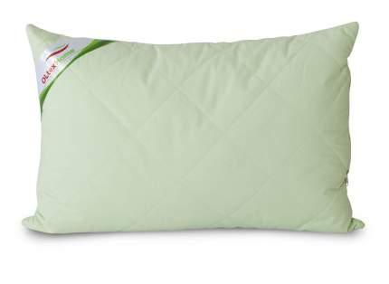Подушка с бамбуковым волокном и съемным чехлом 50х70 фисташковая Ol-tex