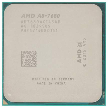 Процессор AMD A8 7680 Box