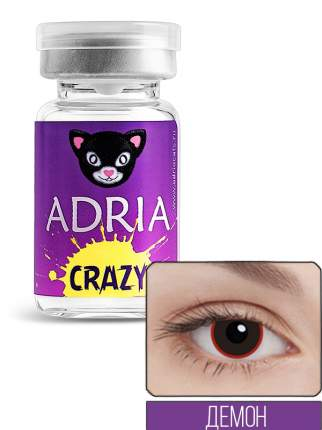 Контактные линзы ADRIA CRAZY 1 линза 0,00 demon