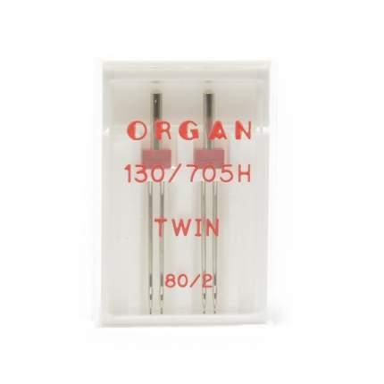 """Иглы """"Organ"""" двойные №80/2 для БШМ упак,2 игла"""