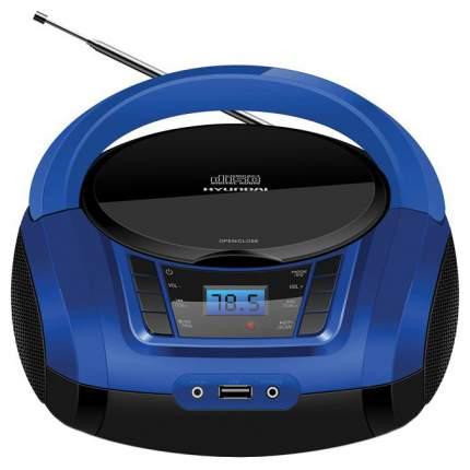 Магнитола Hyundai H-PCD340 Черный/Синий