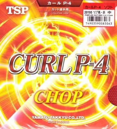 Накладка для ракетки TSP Curl P4 красная OX