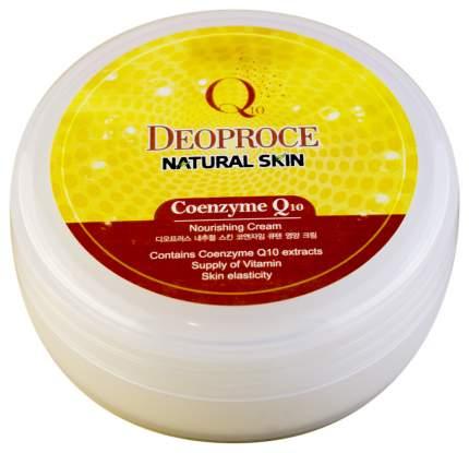 Крем для тела Deoproce Natural Skin Coenzyme Q10 Nourishing Cream 100 г
