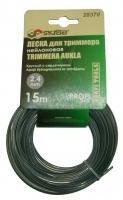 Леска для триммера Skrab 2,4 мм/15 м 28372
