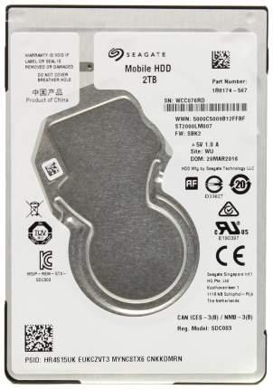 Внутренний жесткий диск Seagate Mobile HDD 2TB (ST2000LM007)